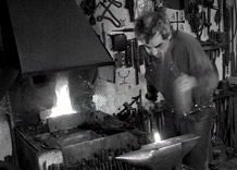 Pavel Skryja At the forge